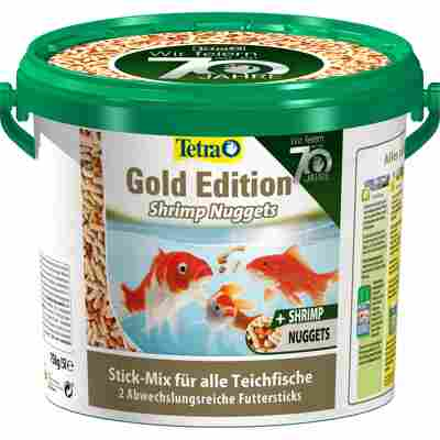 Futtersticks 'Pond Gold Edition' mit Shrimp-Nuggets 750 g