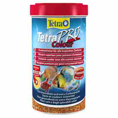 """Fischfutter """"Pro"""" Tetra Colour 110 g"""