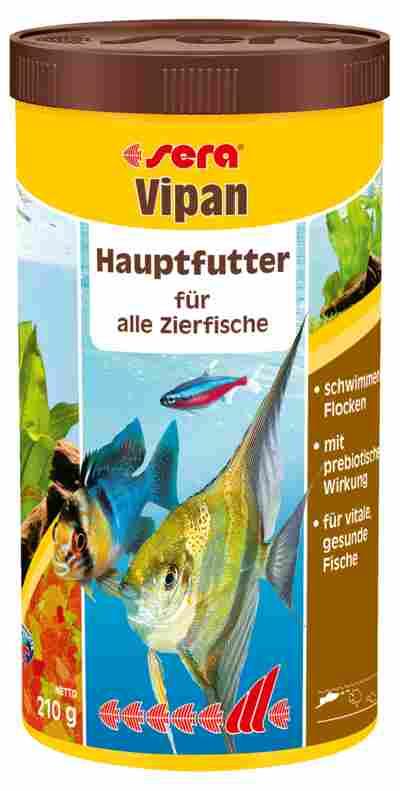 Fischfutter Vipan Hauptfutter 0,210 kg