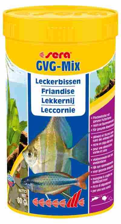 Fischfutter GVG-Mix Leckerbissen 0,060 kg