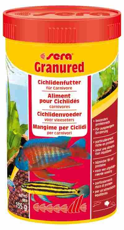 Fischfutter Granured Proteinfutter 135 g