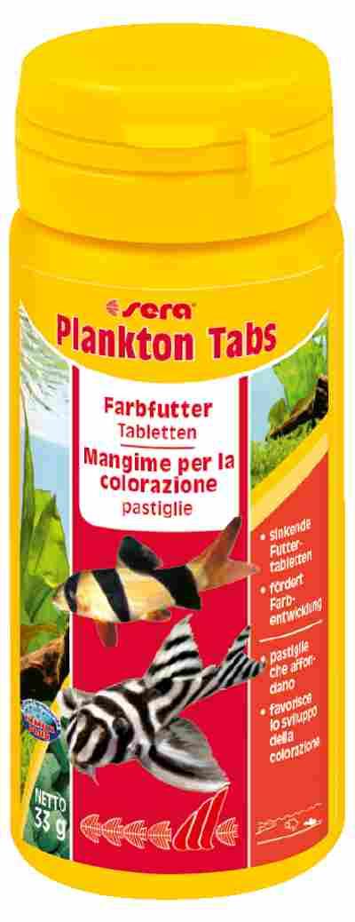 Fischfutter Plankton Tabs Futtertabletten 0,033 kg
