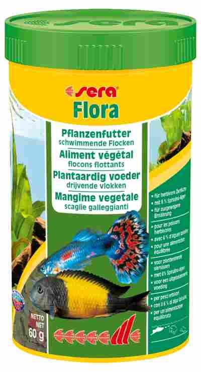 Fischfutter Flora Grünfutter 600 g