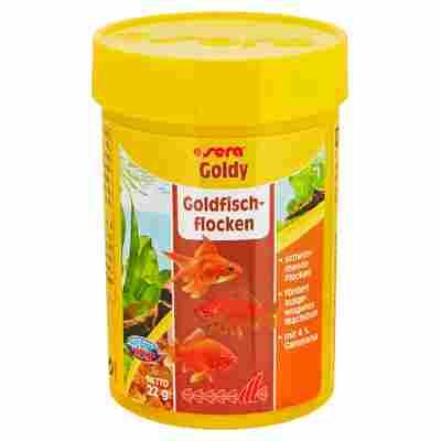 Fischfutter Goldy Goldfischflocken 22 g