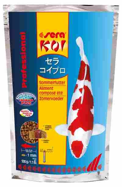Sommerfutter 500 g, sera