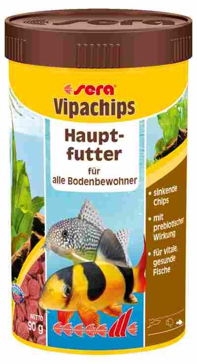 Fischfutter Vipachips 90 g