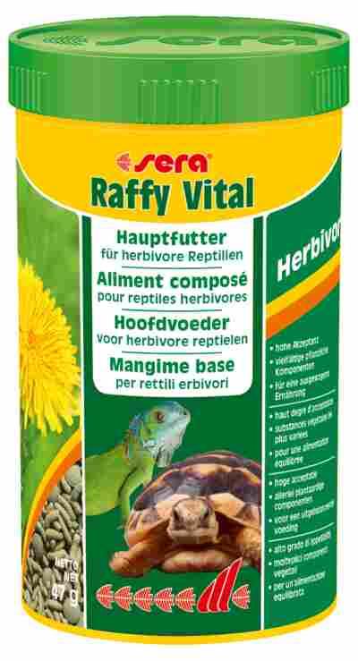 Reptilienfutter Raffy Vital Hauptfutter Herbivor 0,047 kg