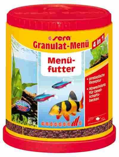 Fischfutter Granulatmenü 4in1 0,066 kg