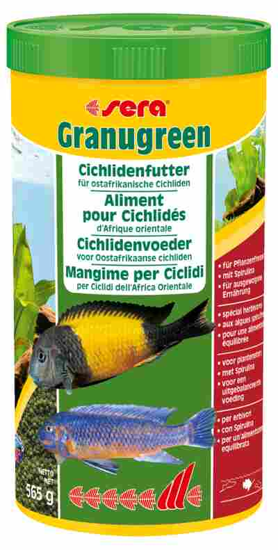 Fischfutter Granugreen Grünfutter 0,6 kg