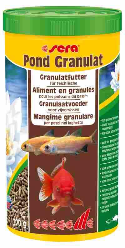 Teichfischfutter pond granulat 170 g