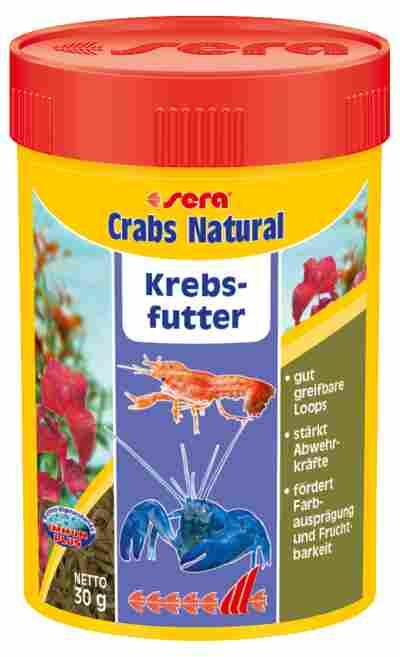 Krebsfutter Crabs Natural 30 g