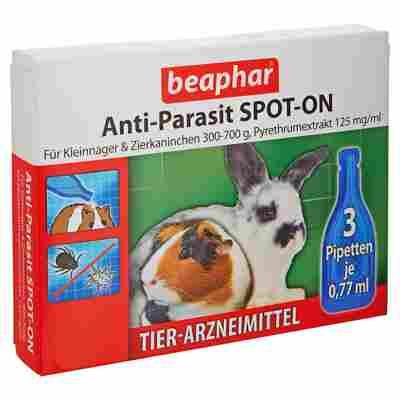 """Kleintierarznei """"Anti-Parasit"""" Spot-On 3 x 0,77 ml"""