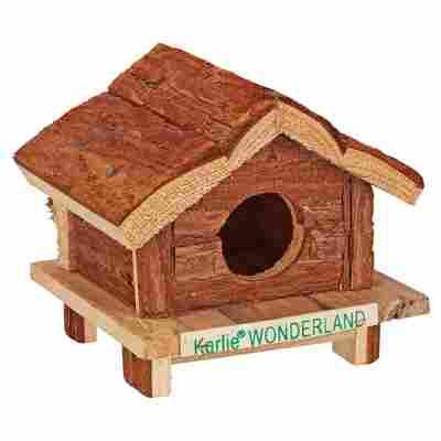 "Nagerhäuschen ""Wonderland"" Hudson Bay Holz 14 x 12 x 13 cm"