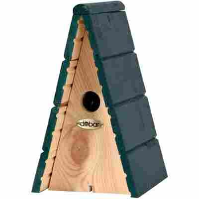 Nistkasten mit grünem Dach 17 x 29 x 18 cm