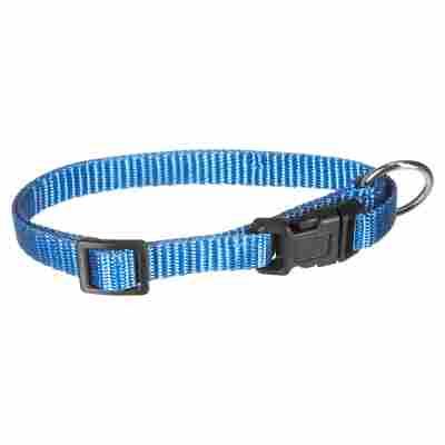 """Hundehalsband """"Art Sportiv Basic"""" 20 - 35 x 1 cm blau"""