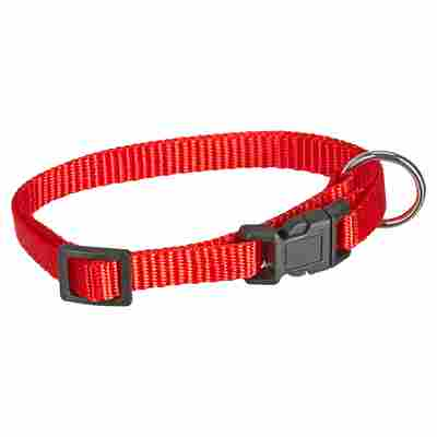 "Hundehalsband ""Art Sportiv Basic"" 20 - 35 x 1 cm rot"