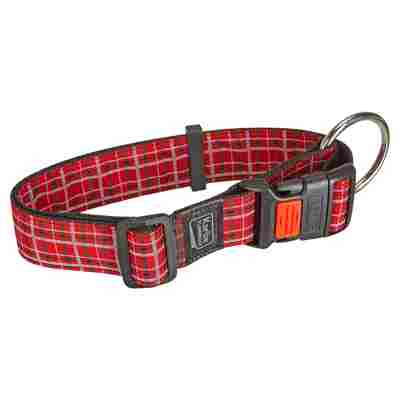 "Hundehalsband ""Tartan"" 55 - 75 x 4 cm Gr. XL"