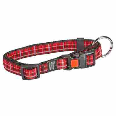 "Hundehalsband ""Tartan"" 45 - 55 x 2 cm Gr. M"