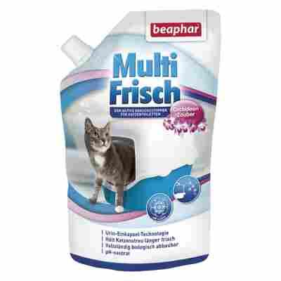 Geruchsstopper für Katzentoiletten 'Multi Frisch' Orchidee 400 g