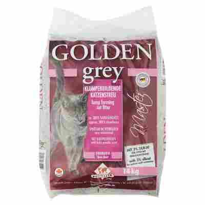 """Katzenstreu """"Golden grey"""" 14 kg"""