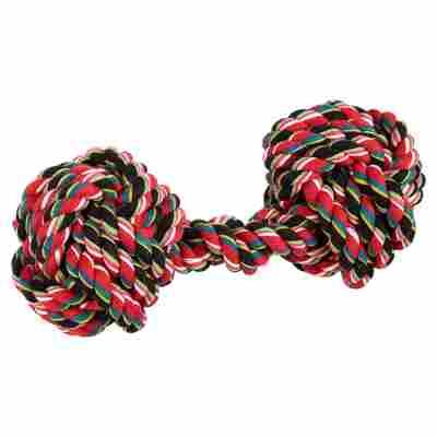 Hundespielzeug Hantel Baumwolle XL
