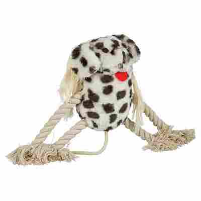 Hundespielzeug Plüschtier mit Kauseil