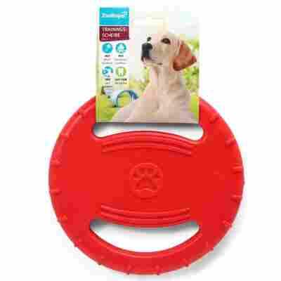 Hunde-Trainingsscheibe Ø 205 x 20 mm rot