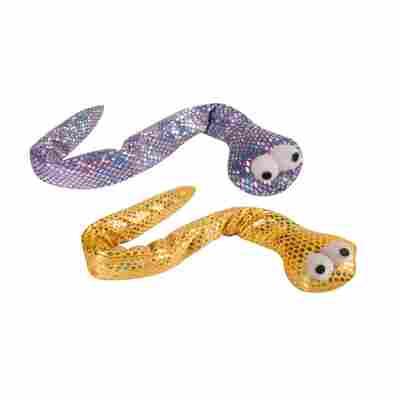 Katzenspielzeug Schlange, farblich sortiert