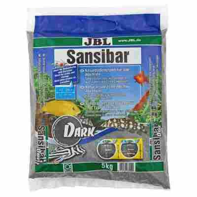 """Aquarien-Naturbodengrund """"Sansibar"""" dunkelgrau 5 kg"""