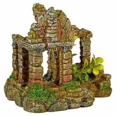 """Aquariendeko Ruine """"Brick Gate"""" 17 x 13,3 x 15 cm"""