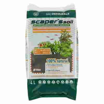 "Aquarien-Bodengrund ""Scaper's Soil"" braun 4000 ml"