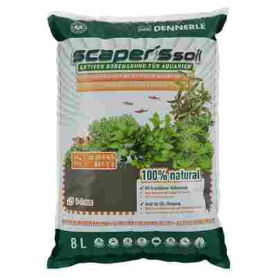 "Aquarien-Bodengrund ""Scaper's Soil"" braun 8000 ml"