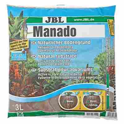 "Aquarien-Naturbodengrund ""Manado"" braun"