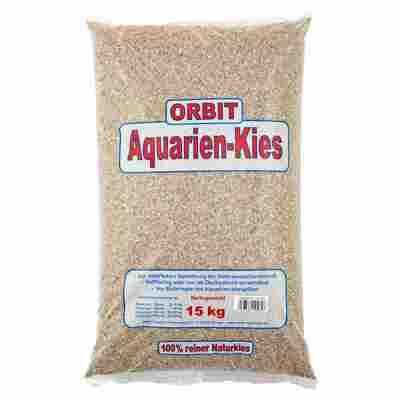 Naturkies Aquarium grau Ø 1 - 2 mm 15 kg