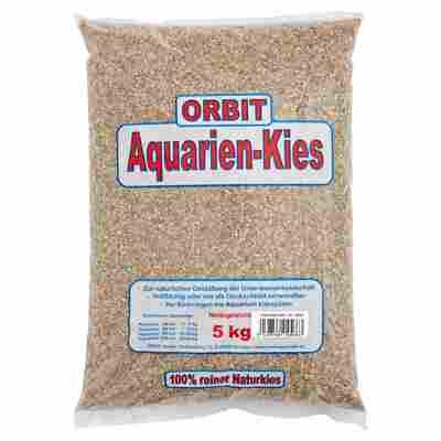 Naturkies Aquarium grau Ø 1 - 2 mm 5 kg