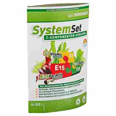 "Dreikomponenten-Düngung ""System-Set"" 3-tlg. 50 ml 10 Tabletten"