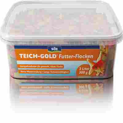 TEICH-GOLD Futter-Flocken 3 l