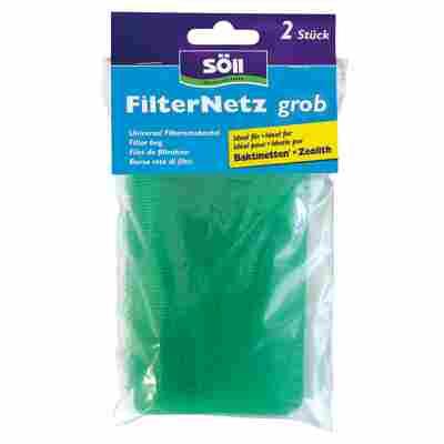 Filter-Netz grob, grün, 2 Stück