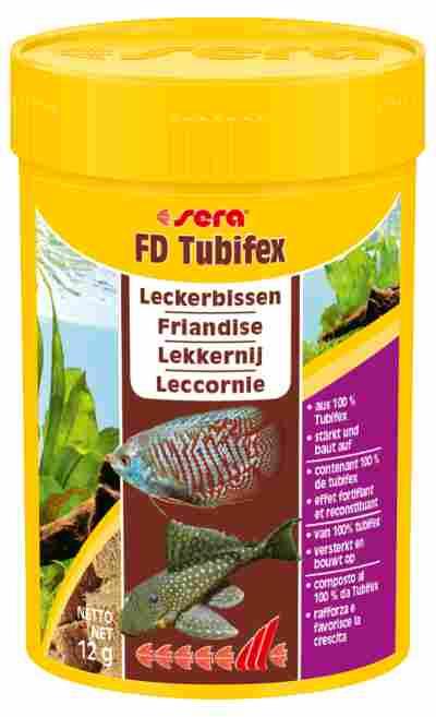"""Fischfutter """"FD Tubifex"""" Powersnack 12 g"""