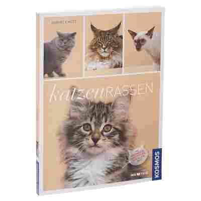 """Kosmos-Tierratgeber """"Katzenrassen: Die schönsten Samtpfoten aus aller Welt"""" PB 128 S."""