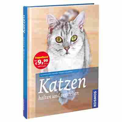 """Kosmos-Tierratgeber """"Katzen halten und verstehen"""" HC 240 S."""