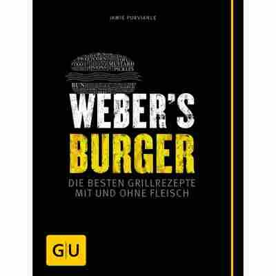 Grillbuch Jamie Purviance 'Weber's Burger: Die besten Grillrezepte mit und ohne Fleisch'