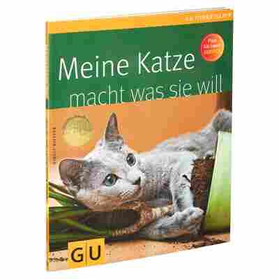 """GU-Tierratgeber """"Meine Katze macht was sie will"""" PB 64 S."""