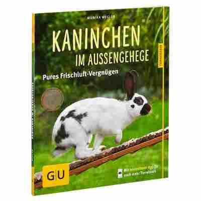 """GU-Tierratgeber """"Kaninchen im Außengehege: Pures Frischluft-Vergnügen"""" PB 64 S."""