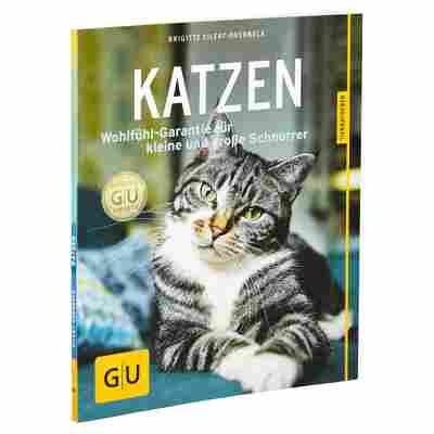 """GU-Tierratgeber """"Katzen: Wohlfühl-Garantie für kleine und große Schnurrer"""" PB 64 S."""