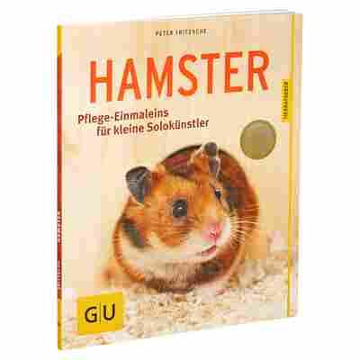 """GU-Tierratgeber """"Hamster: Pflege-Einmaleins für kleine Solokünstler"""" PB 64 S."""