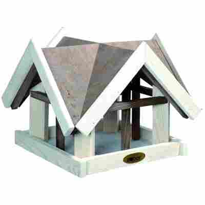 Futterhaus mit Giebeldach 37 x 30 x 37 cm