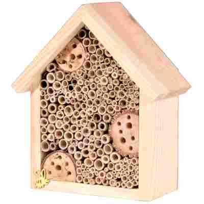 Insektenhotel 'Natur' mit Spitzdach, klein