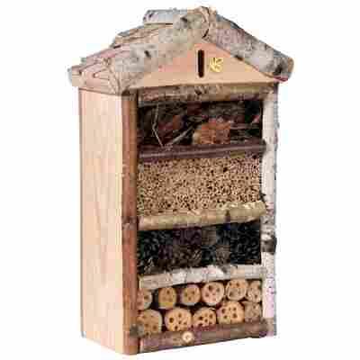 Insektenhotel 'Rustikal' mit Astschindeln, groß