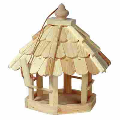 Vogelfutterhaus mit Holzschindeln 35 x 37 x 31 cm